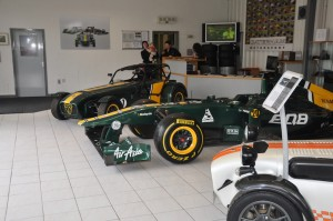 Caterham Midlands Showroom