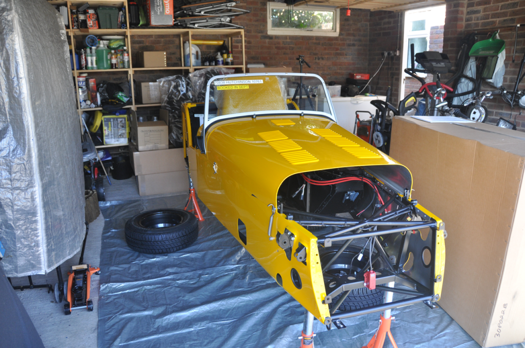 Caterham Academy 2013 car delivered