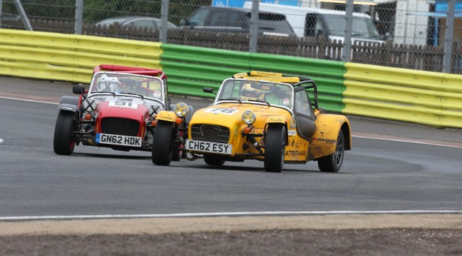 Long haul racing – Caterham Roadsports visit Croft