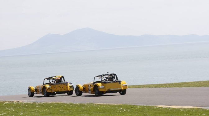 Seaside racing at Anglesey