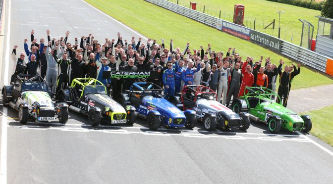 Caterham Motorsport Mid Season Review 2016